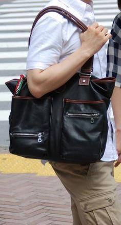The stylish manbag