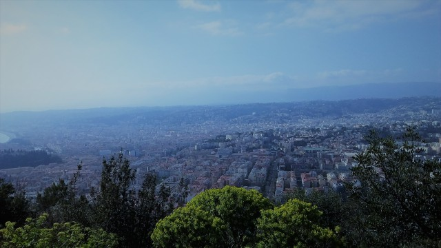A view of Nice from Castle Hill