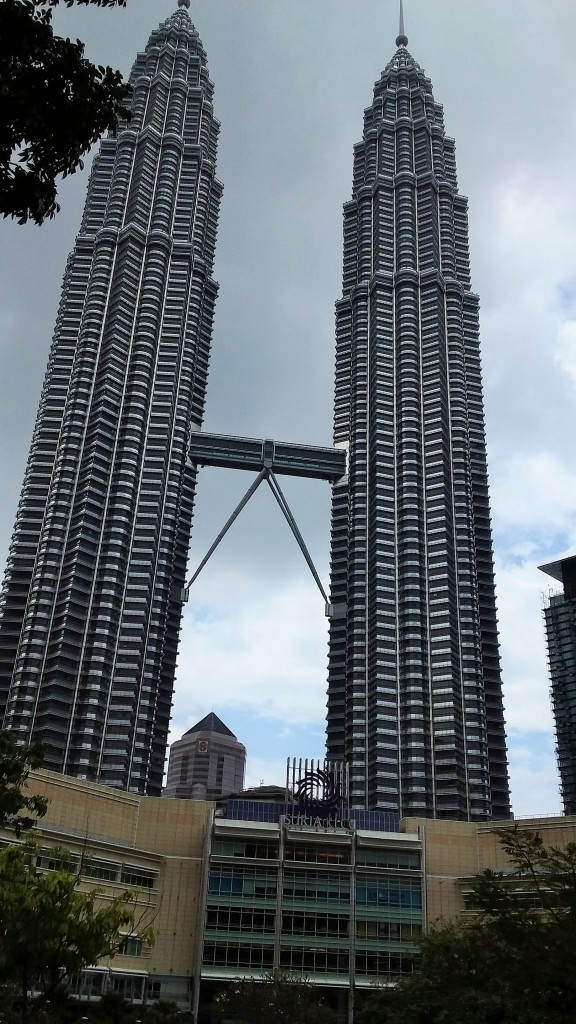 My view of the Petronas Towers