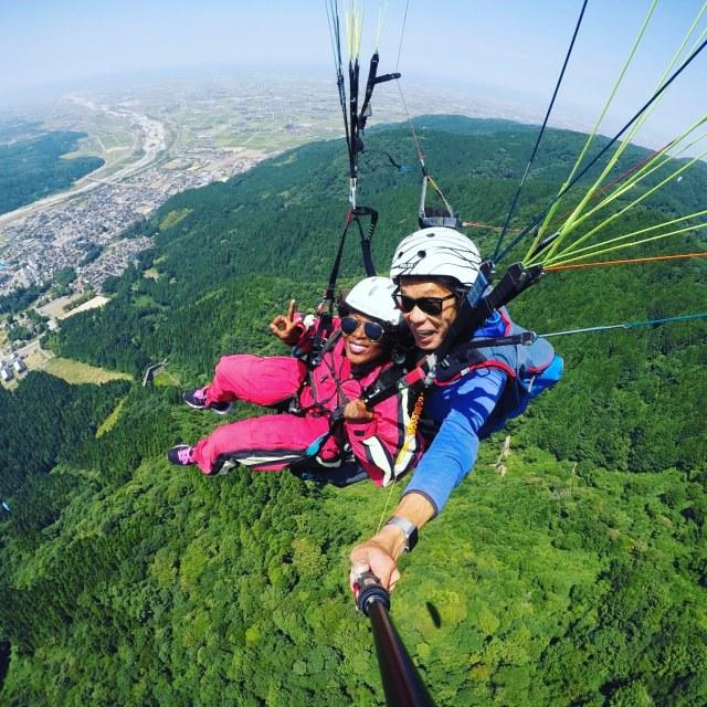 Paragliding at Sky Shishiku
