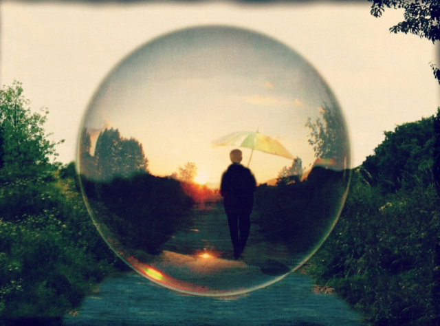 Living in a bubble may be drama-free, but it's no way to live. Or is it?