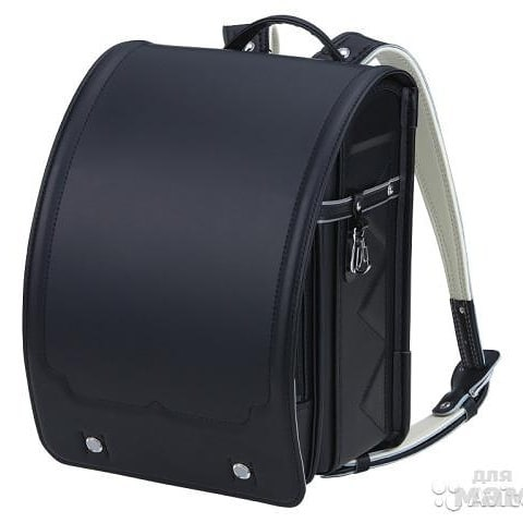 Elementary school backpack, known as randoseru in Japanese.
