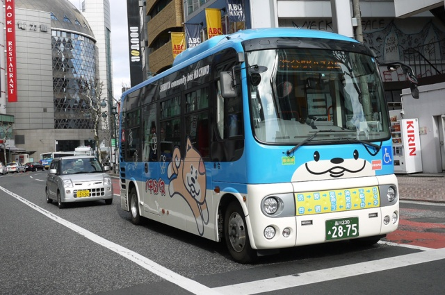 There is an obsession with cute culture in Japan, but it definitely works on this bus.