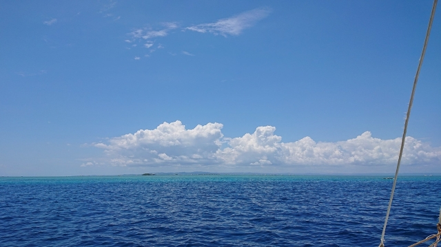 Shades of blue — in Caohagan, Cebu, Philippines.
