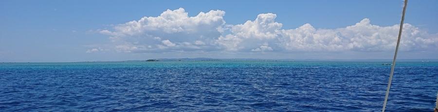 Shades of blue — in Caohagan, Cebu, Philippines.