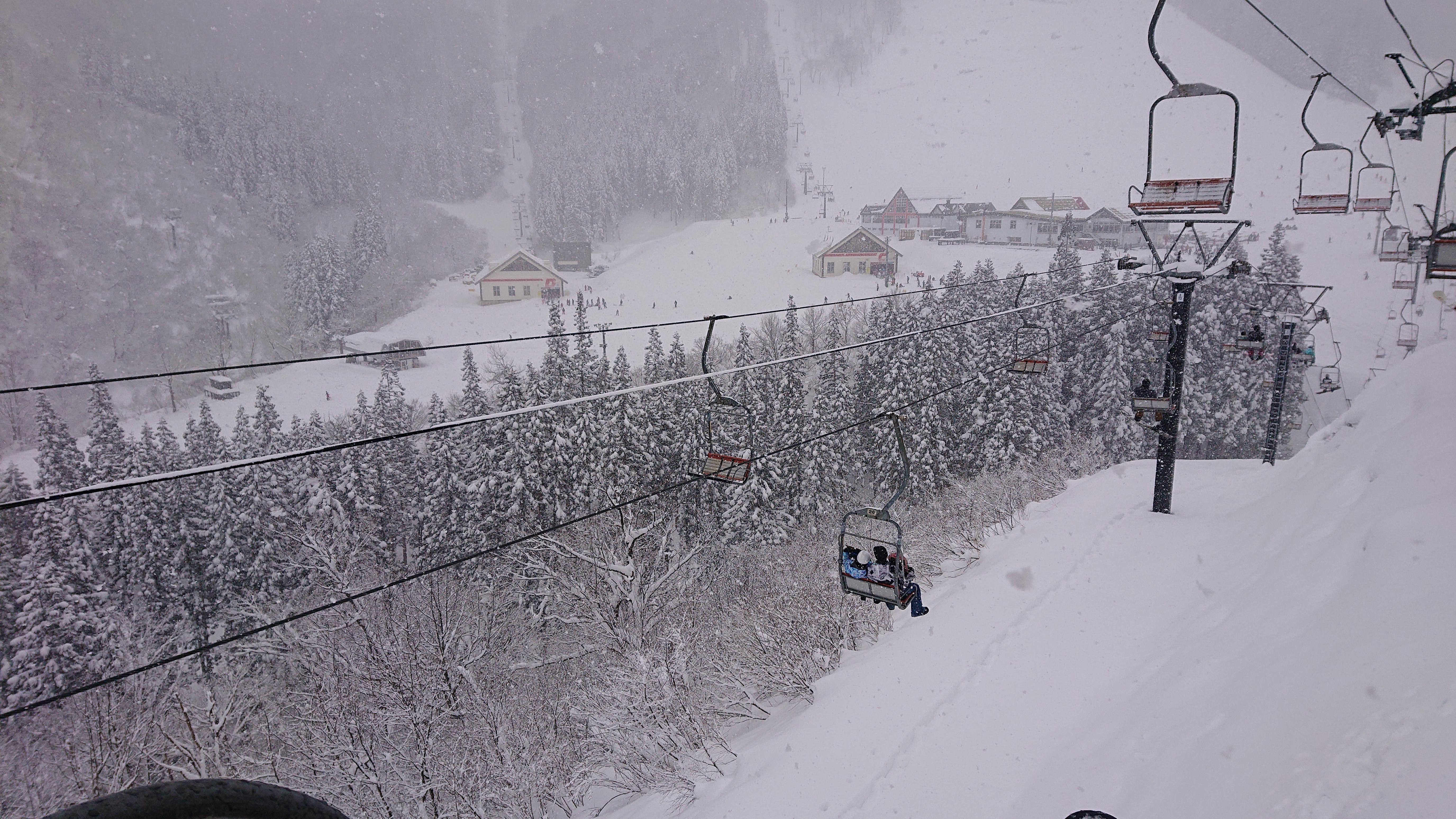 Kandatsu Snow Resort in Niigata